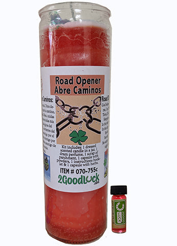 Road Opener Dressed Candle Kit - Abre Camino