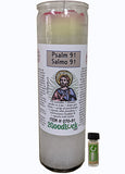 Psalm 91 Dressed Candle Kit - Salmo 91 Proteccion
