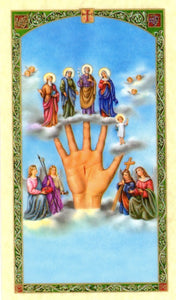 Helping Hand Prayer Card - 2GoodLuck & My Jaguar Books