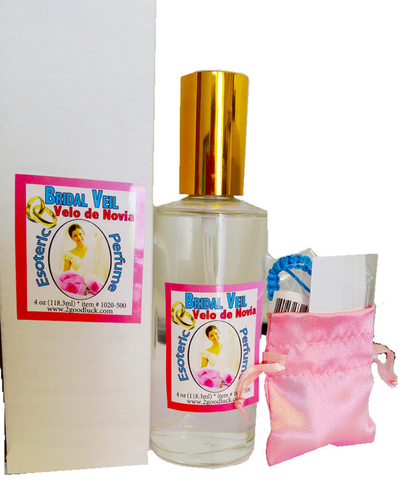 Bridal Veil Spiritual Unisex Perfume with Pheromones and Amulet