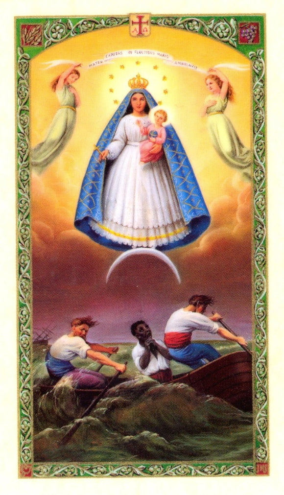 Our Lady Of Charity Prayer Card - 2GoodLuck & My Jaguar Books