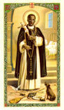 Saint Martin Porres Prayer Card - Jaguar Books - 3