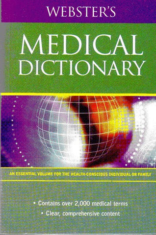 Webster's Medical Dictionary - 2GoodLuck & My Jaguar Books