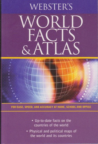 Webster's World Fact Atlas - 2GoodLuck & My Jaguar Books