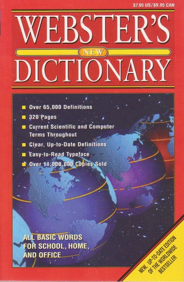 Webster's New Dictionary - 2GoodLuck & My Jaguar Books