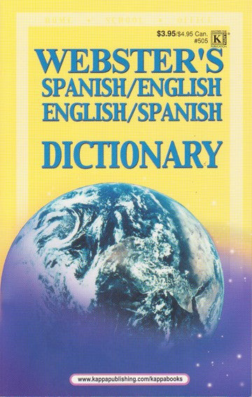 Webster's Spanish/English Dictionary - 2GoodLuck & Jaguar Books