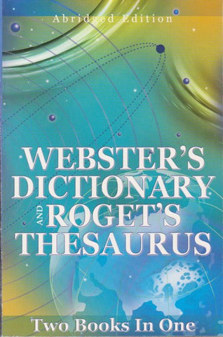 Webster's Dictionary and Roget's Thesaurus - 2GoodLuck & My Jaguar Books