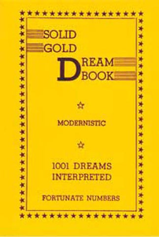 Solid Gold Dream Book - 2GoodLuck & My Jaguar Books