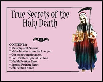True Secret of the Holy Death - 2GoodLuck & My Jaguar Books