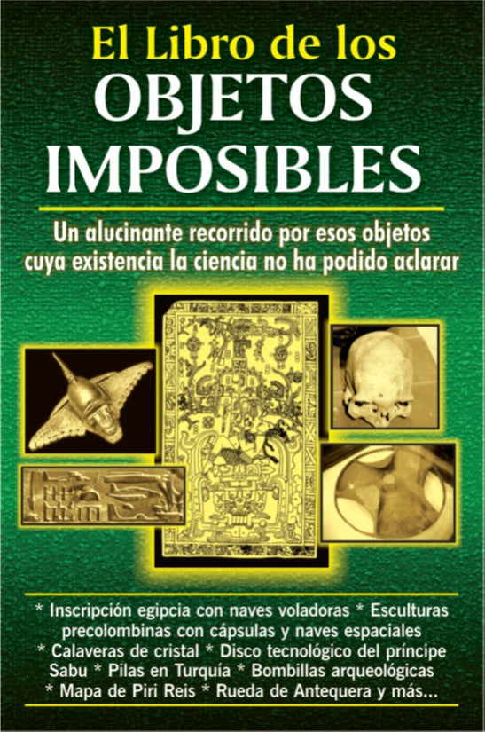Los Objetos Imposibles - My Jaguar Books