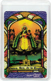 Our Lady of Regla Bilingual Prayer card / Estampa de la Virgen de Regla - Jaguar Books - 2