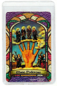 Powerful Hand Bilingual Prayer card - My Jaguar Books