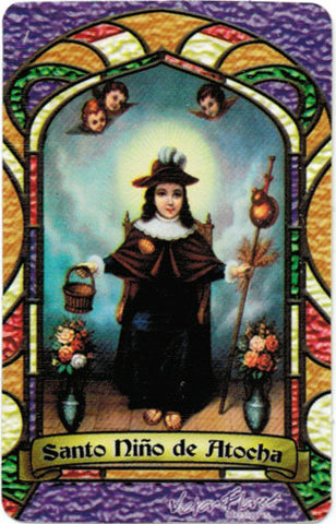 Holy Child of Atocha Bilingual Prayer card - 2GoodLuck & My Jaguar Books