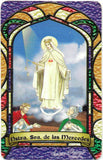 Our Lady of Mercy Bilingual Prayer card / Estampa Virgen de Las Mercedes - My Jaguar Books
