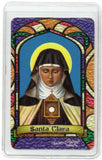 St. Clara Bilingual Prayer card