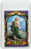 St. Jude Thaddeus Bilingual Prayer card - Jaguar Books - 2