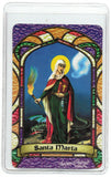 St. Marta Bilingual Prayer card - Jaguar Books - 2