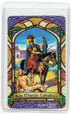 St. Martin Cavalier Bilingual Prayer card - My Jaguar Books