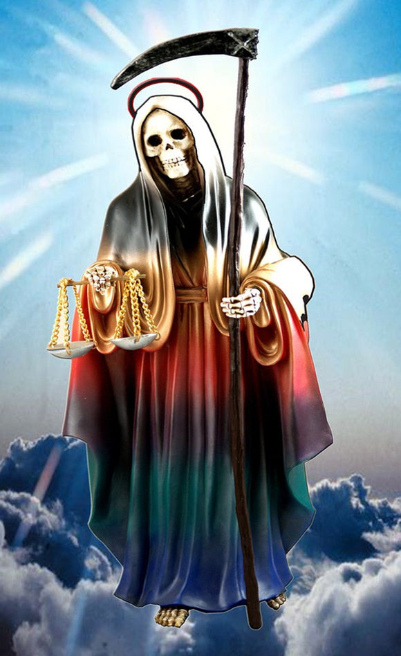 Santa Muerte Prayer Card - 2GoodLuck & My Jaguar Books