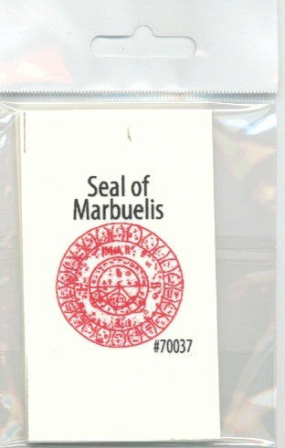 Seal of Marbuelis / Sello de Marbelys - 2GoodLuck & My Jaguar Books