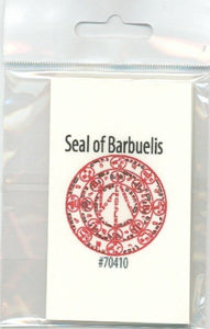 Seal of Barbuelis - 2GoodLuck & My Jaguar Books
