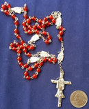 Beautiful Holy Death Rosary with Prayer Book (in Spanish) / Rosario de la Santa Muerte - My Jaguar Books