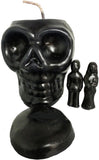 Banishing Skull Candle -Black- 2GoodLuck & My Jaguar Books