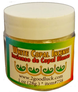 Copal Incense Resin / Incienso Copal Blanco - 2GoodLuck & My Jaguar Books