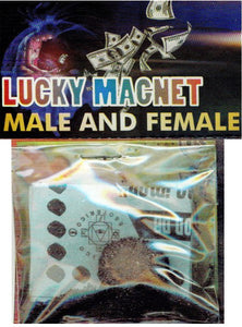 Lucky Magnet Male & Female Amulet - 2GoodLuck & My Jaguar Books