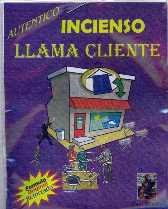 Attract Customers Incense / Incienso Llama Cliente - 2GoodLuck & My Jaguar Books