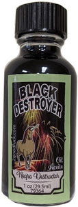 Black Destroyer Spiritual Oil / Aceite Espiritual Negro Destructor