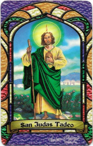 St. Jude Thaddeus Bilingual Prayer card / Tarjeta San Judas - 2GoodLuck & My Jaguar Books