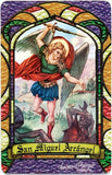 St. Michael Archangel Bilingual Prayer card - 2GoodLuck & My Jaguar Books