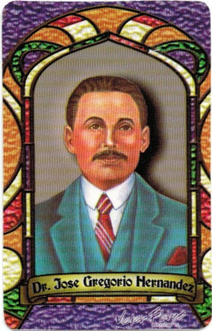 Dr. Jose Gregorio Hernandez Prayer card (spanish only) - My Jaguar Books