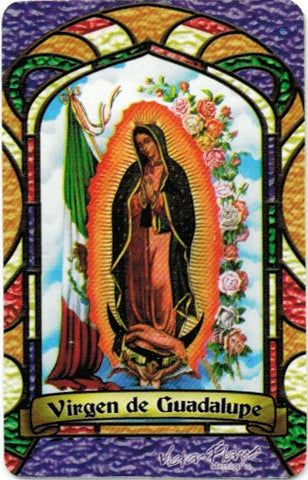 Virgin of Guadalupe Bilingual Prayer card - 2GoodLuck & My Jaguar Books