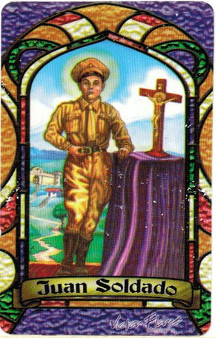 Juan Soldado Prayer card (spanish only) - 2GoodLuck & My Jaguar Books