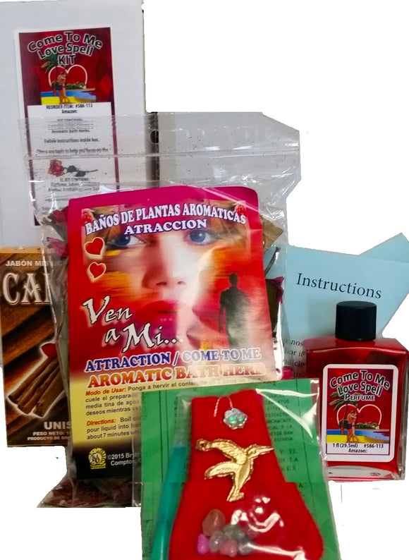 Come To Me Kit of Attraction / Atraccion de Amor Kit Ven A Mi - 2GoodLuck