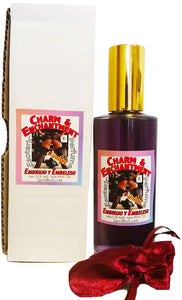 Charm & Enchantment Spiritual Unisex Perfume with Pheromones and Amulet