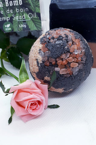 Vegan Hemp Bath Bombs