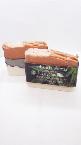 Eucalyptus Mint Vegan Hemp Soap