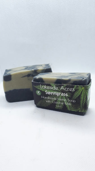 Sweetgrass Vegan Hemp oil Soap