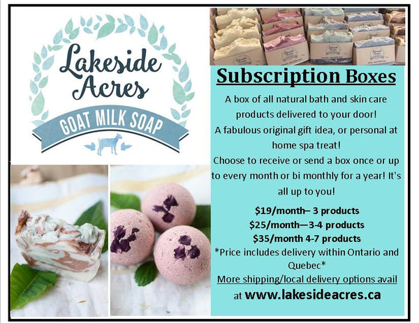 Subscription Boxes Hand Delivery (North Bay, Corbeil, Bonfield)