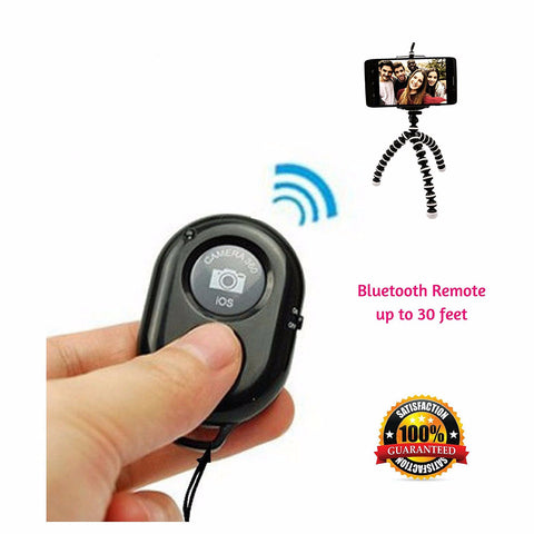 Remote Control Shutter Release with Wrist Strap for use with all Smartphones