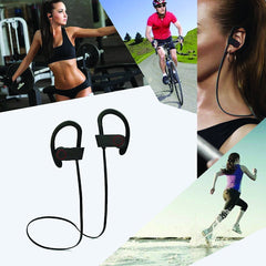 Over-Ear Headphones Sweatproof Earbuds for Music & Phone Calls, Best for Exercise