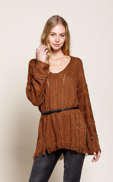 Rebel Fringe Sweater