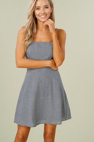 Louisa Gingham Dress