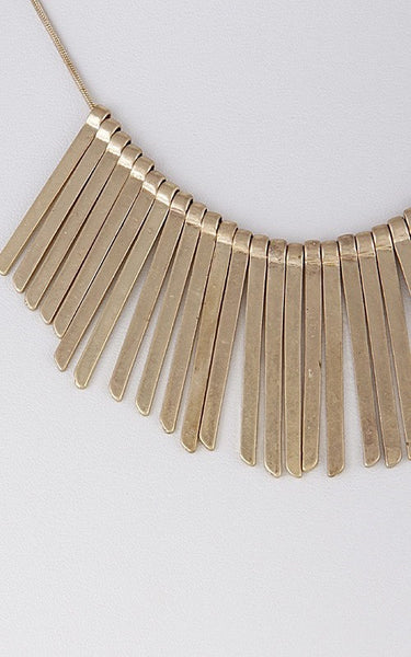 Tribe Gold Necklace