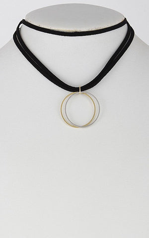 Full Circle Choker Necklace