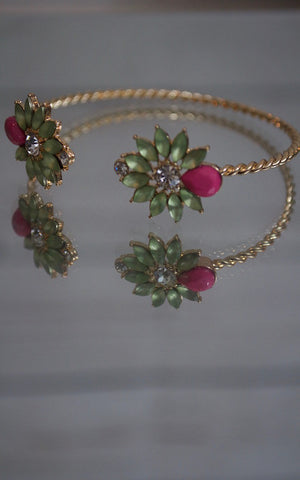 Blooming Green Bracelet