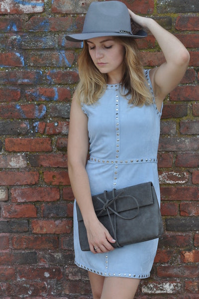 Baby Blues Suede Dress